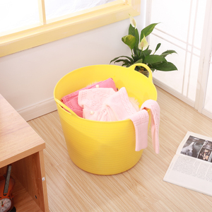 创意大号脏衣篮洗衣篮 玩具收纳篮<span class=H>收纳桶</span> 玩具筐宝贝洗澡桶