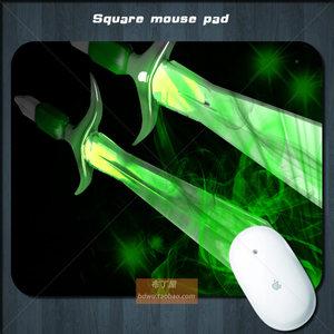 DOTA2游戏鼠标垫办公学习动漫卡通柔软天然橡胶5mm原创包邮