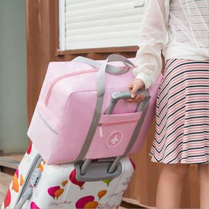 可折叠旅行包手提行李<span class=H>袋</span>女大容量登机包短途出差<span class=H>袋</span>男防水套拉杆箱