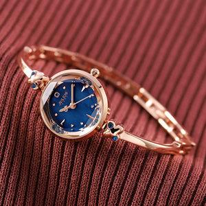 正品新款聚利时钢带<span class=H>手镯表</span>手链女表小表盘手表女时尚防水石英表