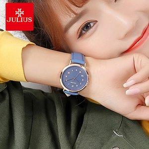 聚利时女士<span class=H>手表</span>2018新款时尚潮流简约大表盘中性休闲防水大气女表