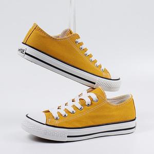 夏季球鞋新款小白帆布<span class=H>女鞋</span>2019春季板鞋韩版<span class=H>单鞋</span>百搭潮鞋学生布鞋