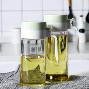tinyhome北欧高硼硅玻璃油壶防漏调料油瓶大容量厨房家用调料瓶罐