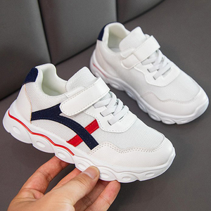 女童运动鞋2020新款夏季女童网红鞋子儿童网鞋透气小白鞋休闲大童