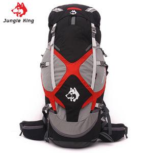 野营登山包 防水运动双肩包65L 户外旅行男女徒步背包运动鼓包