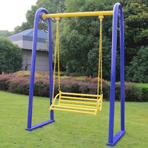 金龙室外健身器材休闲荡椅 户外小区公园运动路径 太空儿童椅<span class=H>秋千</span>
