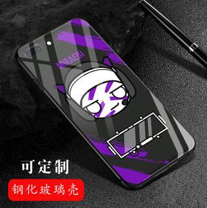 彩虹六号手机壳iPhoneX周边苹果6s/7/8plus华为小米OPPO玻璃镜面