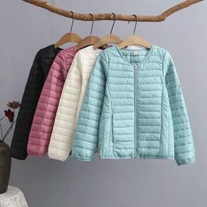 <span class=H>棉衣</span>女2018冬季新款百搭轻薄内胆羽绒棉服短款韩版200斤大码外套