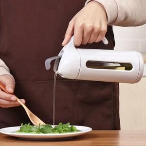 油壺玻璃廚房裝油罐日本防漏帶包郵網家用儲油罐子大號油瓶<span class=H>油桶</span>