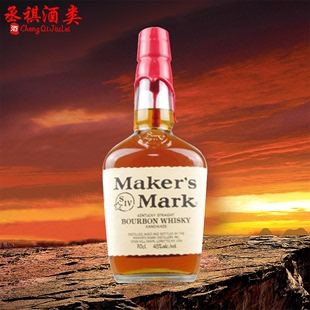 美格威波本威士忌Maker's Mark Bourbon Whisky美国进口洋酒