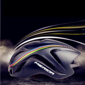 美利达自行车公路气动破风版骑行<span class=H>头盔</span>一体成型男女安全帽单车装备