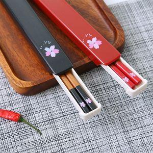 外出随身携带筷子勺子叉子套装便携式餐具收纳盒方便外带成人旅游