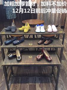 服装店创意高低组合桌子复古展示台货架<span class=H>鞋子</span><span class=H>包包</span>流水台花店桌子