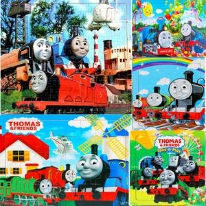 40片60片80片100片200片托马斯小火车系列<span class=H>拼图</span><span class=H>拼板</span>宝宝益智力玩具