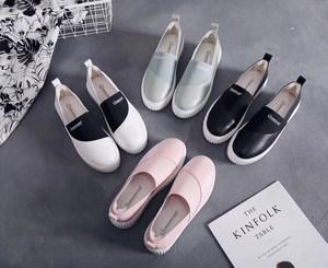 澳洲<span class=H>Tasman</span>春夏新款意大利牛皮熊猫鞋女厚底