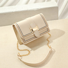Spring and Summer Single Shoulder Bag Lady's New Korean Ins Baitao Chain Slant Bag Fashion Simple