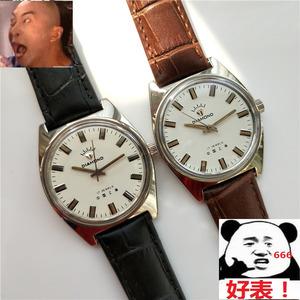国产牌库存原装库存17钻机械男士品牌流行简约<span class=H>手表</span>钻石