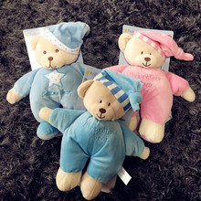 High-quality export baby comfort toy baby sleeping Plush Doll Baby Bear Doll sleeping baby bear