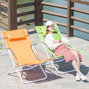 躺椅折叠椅办公室午休午睡床宝宝休闲躺椅办公室躺椅懒人阳台躺椅
