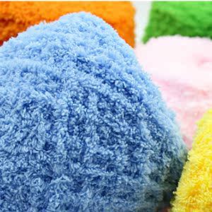 珊瑚绒毛线三股手编织布机DIY配件手工编织北欧挂毯材料包围巾帽