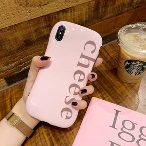 小蛮腰粉色硅胶苹果全系手机壳