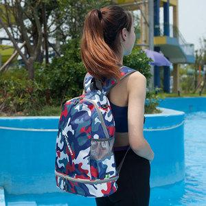 运动健身包<span class=H>女包</span>男训练包干湿分离包游泳包双肩背包旅行包休闲<span class=H>包包</span>