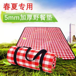 5mm加厚防潮垫户外野餐垫便携春游<span class=H>垫子</span>超大公园郊外超轻折叠地垫