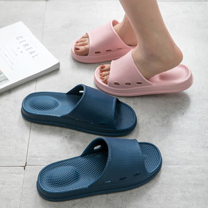 夏季按摩凉<span class=H>拖鞋</span>女家居家用室内男士情侣洗澡浴室防滑厚底软底新品