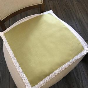 日式棉麻夏季办公室椅子凳餐<span class=H>椅垫</span>学生垫子家用<span class=H>座垫</span>布艺屁股垫透气