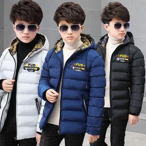 男童棉衣中大童加厚羽绒棉服9冬装棉袄胖男孩保暖外套冬季12-15岁