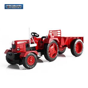 新品合金拖拉机带车厢 凯迪威仿真农用车模型691013儿童玩具<span class=H>汽车</span>