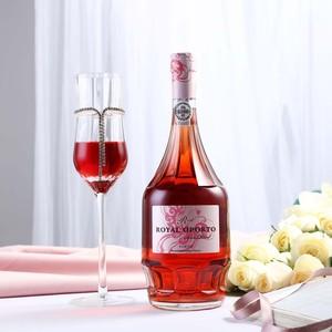 醉美晚安甜酒!葡萄牙Royal Porto皇家桃红波特<span class=H>葡萄酒</span>高度甜<span class=H>红酒</span>