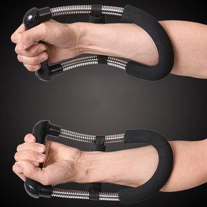 腕力器专业练手力男式训练掰<span class=H>锻炼</span>手腕小臂卷腕健身器材<span class=H>家用</span>握力器