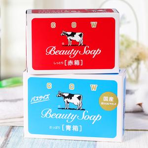日本COW牛乳石碱牛奶沐浴皂洁面<span class=H>香皂</span>清爽型 滋润型2种选