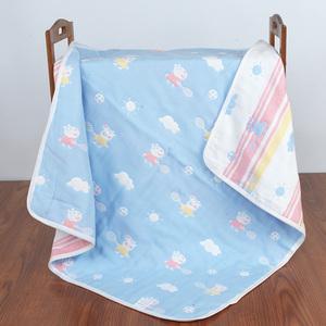 婴儿<span class=H>浴巾</span> 宝宝儿童6层纱布<span class=H>毛巾</span>被 新生儿纯棉大盖毯加厚