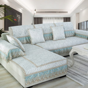 <span class=H>沙发</span>垫四季通用欧式布艺防滑客厅坐垫子全盖简约现代万能套罩全包