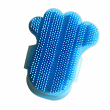 Dog bath brush cat gloves pet massage brush pet supplies beauty cleaning Teddy dog knot brush