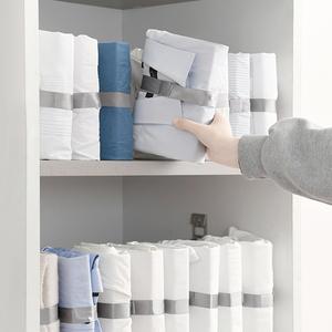 日本衣柜整理折衣板懒人叠衣板收纳衬衫裤子叠衣服神器可抽5个装