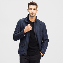 Ports/Baozi Fall and Winter 2019 New Derivative Seam Stitching Jacket Medium-length Jacket Polyester Cotton Clothing for Men
