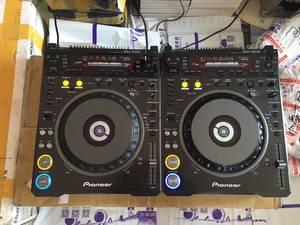 二手dj设备先锋PIONEER DVJ1000 CD DVD视频打碟机一对