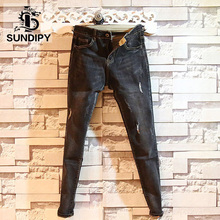 Sundipy Spring and Autumn Trends Men's Jeans Fashion