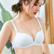 Japanese Gunze Summer Underwear Gathers Non-Ring Adjusted Bra Invisible Sexy Tuche Cup