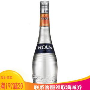波士蜜桃<span class=H>力娇酒</span> Bols Peach Liqueur宝狮鸡尾酒调酒 洋酒 正品