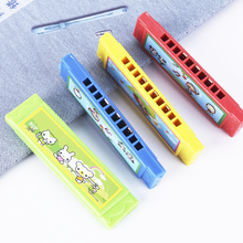 Mini Boys and Children Playing Harmonica Baby Instruments Beginner Wood Playing Toys Girls Kindergarten Children