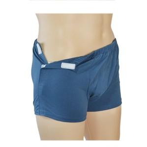 男士易穿脱纯棉平角骨折手术内裤瘫痪老人卧床病人方便穿脱护理裤