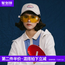 Mr. Evil's hat The spring and summer retro soft-topped baseball cap Men and women wear sunscreen, duck-tongue cap and Korean Chaozhou shade
