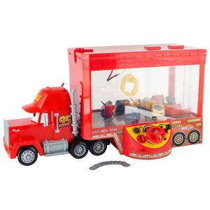 迪士尼汽车总动员麦大叔货柜车闪电麦昆抓娃娃小型<span class=H>夹</span>公仔机玩具
