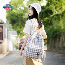 Pineapple checked Shoulder Bag Girl 2019 new Korean version Xiao Qing Xin Canbson Backpack School Travel Bag summer