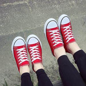 女生<span class=H>帆布鞋</span>2017韩版潮新款男学生百搭春季夏天学院派经典平底布鞋