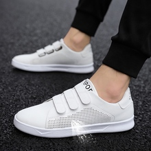 Breathable Men Sneaker Male Shoes Adult Red Black